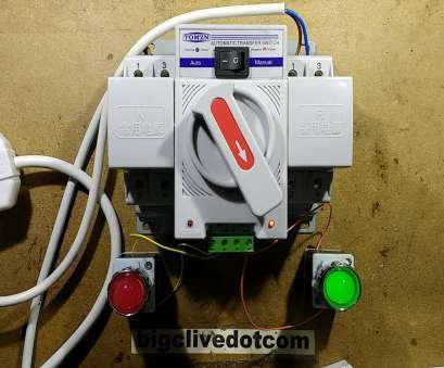 how to install a generator automatic transfer switch Automatic generator changeover switch (with schematic) How To Install A Generator Automatic Transfer Switch Simple Automatic Generator Changeover Switch (With Schematic) Pictures