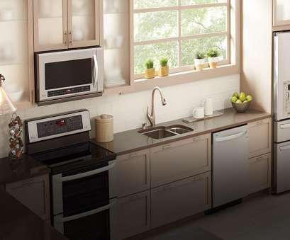 how to install an electrical outlet for an over the range microwave Bright, modern kitchen featuring an LG over, range microwave oven How To Install An Electrical Outlet, An Over, Range Microwave Perfect Bright, Modern Kitchen Featuring An LG Over, Range Microwave Oven Ideas