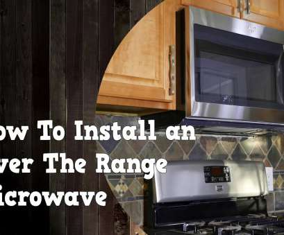 how to install an electrical outlet for an over the range microwave How To Install an Over, Range Microwave, remove, old one How To Install An Electrical Outlet, An Over, Range Microwave Top How To Install An Over, Range Microwave, Remove, Old One Solutions