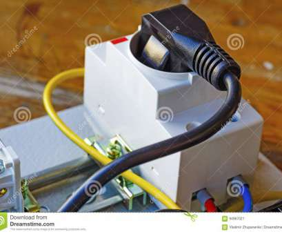 how to install an electrical outlet from another Download Electrical Outlet With Power Plug Installed On, DIN Rail Stock Image, Image of How To Install An Electrical Outlet From Another Brilliant Download Electrical Outlet With Power Plug Installed On, DIN Rail Stock Image, Image Of Images