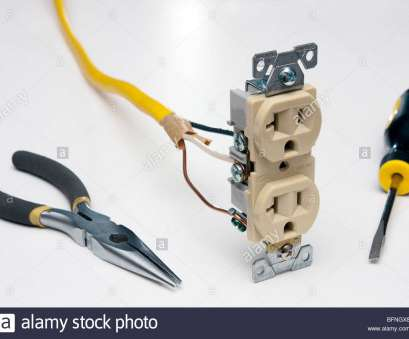 how to install an electrical outlet from another Photo of an electrical outlet with wire, the tools needed to install it How To Install An Electrical Outlet From Another Nice Photo Of An Electrical Outlet With Wire, The Tools Needed To Install It Pictures