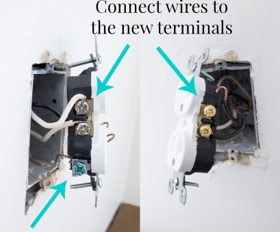 how to install an electrical outlet from another Replacing Outdated Electrical Outlets How To Install An Electrical Outlet From Another Practical Replacing Outdated Electrical Outlets Galleries