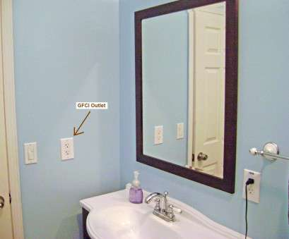 how to install an electrical outlet in a bathroom How to Finish a Basement Bathroom, Ceiling Junction, Wiring 8 Simple How To Install An Electrical Outlet In A Bathroom Photos