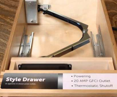 how to install an electrical outlet in a drawer Docking Drawer Power Outlets 13 Nice How To Install An Electrical Outlet In A Drawer Images