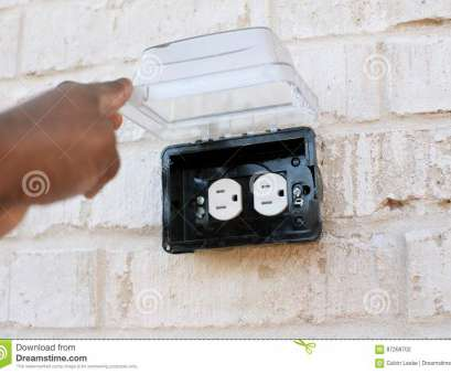 how to install an electrical outlet outdoors Download Electrical Outlet Outside With Rain Cover Stock Photo, Image of juice, building: How To Install An Electrical Outlet Outdoors Popular Download Electrical Outlet Outside With Rain Cover Stock Photo, Image Of Juice, Building: Galleries