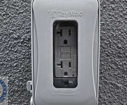 how to install an electrical outlet outside your house Outdoor GFCI installation tutorial 15 Perfect How To Install An Electrical Outlet Outside Your House Images