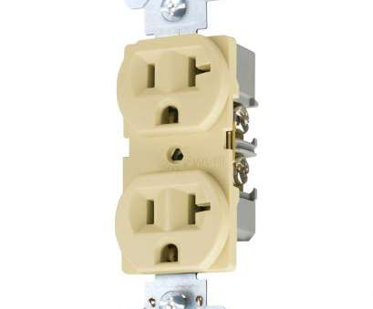 how to install an electrical outlet with 3 wires Eaton 20, 125-Volt 3-Wire 2-Pole Commercial Grade Duplex Receptacle, Ivory How To Install An Electrical Outlet With 3 Wires Cleaver Eaton 20, 125-Volt 3-Wire 2-Pole Commercial Grade Duplex Receptacle, Ivory Galleries