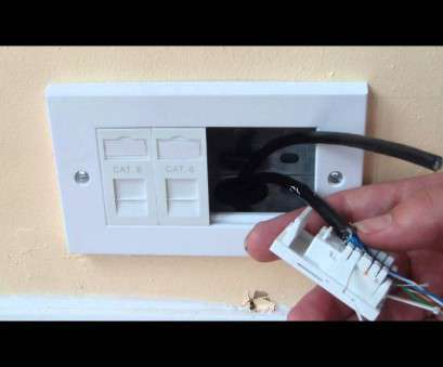 how to install an ethernet wall outlet How to install ethernet sockets to a room How To Install An Ethernet Wall Outlet New How To Install Ethernet Sockets To A Room Photos