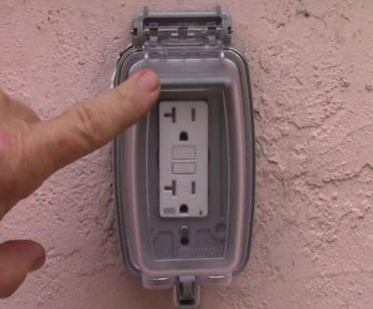 how to install an extra wall outlet Exterior GFCI Receptacle Upgrade to Weather Resistant, Extra Duty Cover, YouTube How To Install An Extra Wall Outlet Brilliant Exterior GFCI Receptacle Upgrade To Weather Resistant, Extra Duty Cover, YouTube Collections