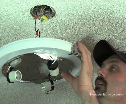 how to install ceiling light bulb How To Replace A Ceiling Light Fixture 12 Popular How To Install Ceiling Light Bulb Pictures