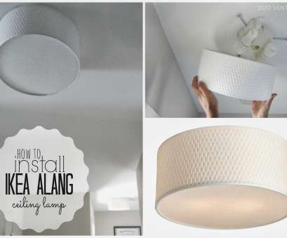 How To Install Ceiling Light Bulb Professional Duo Ventures:, To Install: IKEA ALANG Ceiling Lamp Pictures