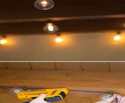 how to install ceiling porch light Here's a simple tutorial on a sturdy, professional-looking, to to hang string lights on your porch or patio. Caitlin Ketcham of Desert Domicile shows 8 Practical How To Install Ceiling Porch Light Photos