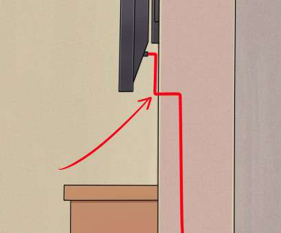 how to install electrical outlet in concrete block How to Install a Flat Panel TV on a Wall With No Wires Showing How To Install Electrical Outlet In Concrete Block Perfect How To Install A Flat Panel TV On A Wall With No Wires Showing Images