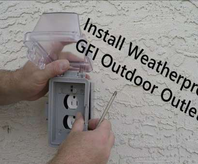 how to install electrical outlet in concrete block How to Install an Exterior Outlet on a Foundation, Tie-In to Main Panel From Start to Finish How To Install Electrical Outlet In Concrete Block Best How To Install An Exterior Outlet On A Foundation, Tie-In To Main Panel From Start To Finish Solutions
