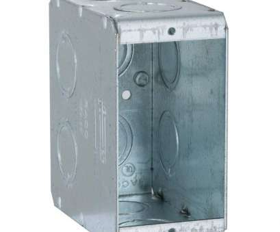 how to install electrical outlet in concrete block RACO Single Gang Masonry Box, 3-1/2, Deep with, and, in Concentric KO's (25-Pack) How To Install Electrical Outlet In Concrete Block Cleaver RACO Single Gang Masonry Box, 3-1/2, Deep With, And, In Concentric KO'S (25-Pack) Solutions