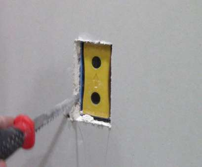 how to install electrical outlet in existing drywall How to, out drywall electrical outlet boxes with Blind Mark How To Install Electrical Outlet In Existing Drywall Simple How To, Out Drywall Electrical Outlet Boxes With Blind Mark Images