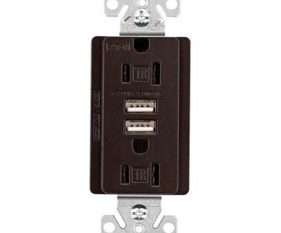 how to install electrical outlet in granite Eaton Designer, Charger with Duplex Receptacle,, Rubbed Bronze How To Install Electrical Outlet In Granite Practical Eaton Designer, Charger With Duplex Receptacle,, Rubbed Bronze Images
