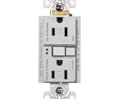 how to install electrical outlet in granite Eaton Designer GFCI Self-Test Duplex Receptacle, Silver Granite How To Install Electrical Outlet In Granite Brilliant Eaton Designer GFCI Self-Test Duplex Receptacle, Silver Granite Images