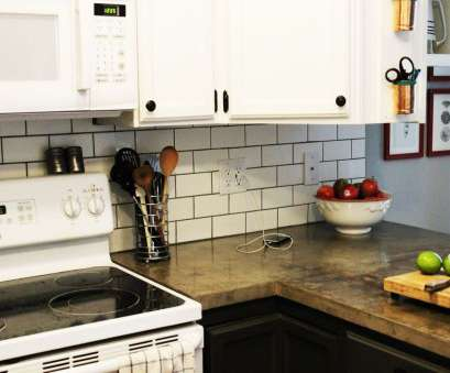 how to install electrical outlet in tile backsplash How to Install a Subway Tile Kitchen Backsplash How To Install Electrical Outlet In Tile Backsplash Popular How To Install A Subway Tile Kitchen Backsplash Collections