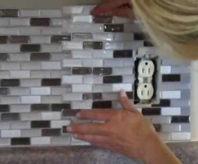 how to install electrical outlet in tile floor How to, Peel, Stick Smart Tiles Around an Electrical Outlet? 11 New How To Install Electrical Outlet In Tile Floor Ideas