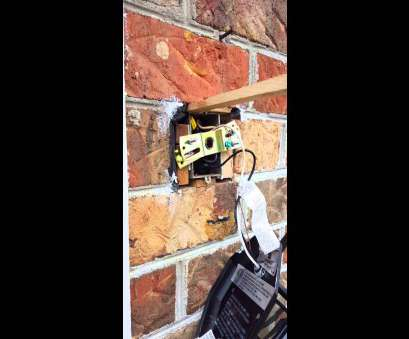 how to install electrical outlet on brick How To Install Electric, In Brick: Install electrical outlet brick wallrh:svlc 17 Practical How To Install Electrical Outlet On Brick Pictures