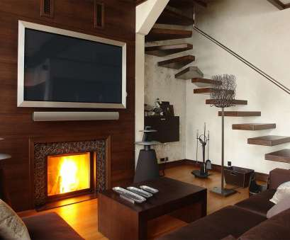 how to install electrical outlet over fireplace Custom Fireplace TV Installation > Media Technologies How To Install Electrical Outlet Over Fireplace Simple Custom Fireplace TV Installation > Media Technologies Solutions