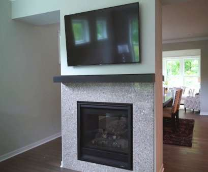 how to install electrical outlet over fireplace How to Mount a TV Above a Fireplace How To Install Electrical Outlet Over Fireplace Cleaver How To Mount A TV Above A Fireplace Photos