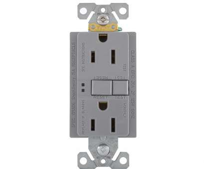 how to install electrical outlet with reset button Eaton GFCI Self-Test 15,, 125-Volt Duplex Receptacle with Standard Size Wallplate, Gray How To Install Electrical Outlet With Reset Button Professional Eaton GFCI Self-Test 15,, 125-Volt Duplex Receptacle With Standard Size Wallplate, Gray Galleries