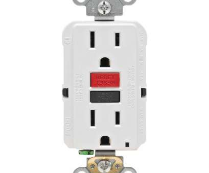 how to install electrical outlet with reset button Leviton 15, 125-Volt Self-Test Tamper Resistant GFCI Outlet, White How To Install Electrical Outlet With Reset Button New Leviton 15, 125-Volt Self-Test Tamper Resistant GFCI Outlet, White Ideas