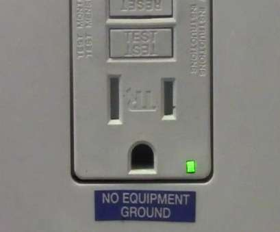 how to install electrical outlet without ground wire 2 Prong Receptacle Replaced With a GFCI Receptacle How To Install Electrical Outlet Without Ground Wire Top 2 Prong Receptacle Replaced With A GFCI Receptacle Ideas