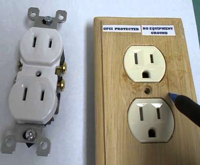 how to install electrical outlet without ground wire Replace, 2-prong outlets-you have 3 choices How To Install Electrical Outlet Without Ground Wire Cleaver Replace, 2-Prong Outlets-You Have 3 Choices Galleries