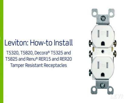 how to install leviton electrical outlet Leviton Presents:, to Install a Tamper Resistant Receptacle How To Install Leviton Electrical Outlet Best Leviton Presents:, To Install A Tamper Resistant Receptacle Collections