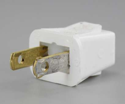 how to install leviton electrical outlet White Leviton Polarized Quick & Easy Lamp Plug, 18-2 SPT-1 Wire How To Install Leviton Electrical Outlet Practical White Leviton Polarized Quick & Easy Lamp Plug, 18-2 SPT-1 Wire Photos