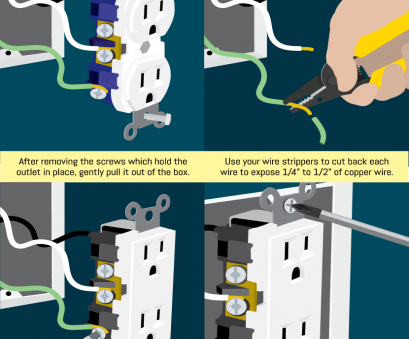 how to install multiple electrical outlet Conduct Electrical Repairs on Outlets, Switches, Fix.com How To Install Multiple Electrical Outlet Best Conduct Electrical Repairs On Outlets, Switches, Fix.Com Photos