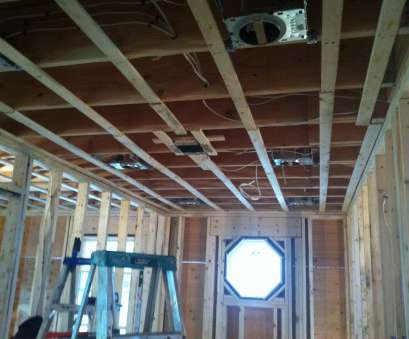 how to install recessed lighting in new construction New construction residential rough wiring, recessed lighting rough install. kitchen, bath remodel How To Install Recessed Lighting In, Construction Popular New Construction Residential Rough Wiring, Recessed Lighting Rough Install. Kitchen, Bath Remodel Collections
