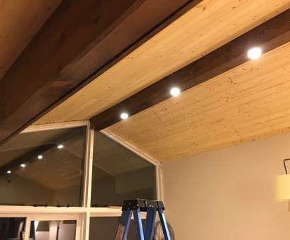how to install recessed lighting in drop down ceiling Pine Faux Beam with Recessed Lighting, dave eddy How To Install Recessed Lighting In Drop Down Ceiling Brilliant Pine Faux Beam With Recessed Lighting, Dave Eddy Ideas
