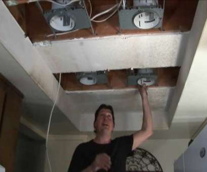 how to install recessed lighting in my kitchen (Step 1) Replace Fluorescent Lights w/ Recessed Lights, YouTube How To Install Recessed Lighting In My Kitchen Brilliant (Step 1) Replace Fluorescent Lights W/ Recessed Lights, YouTube Ideas