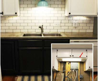 how to install recessed lighting over kitchen sink DIY Kitchen Lighting Upgrade:, Under-Cabinet Lights & Above-the How To Install Recessed Lighting Over Kitchen Sink Practical DIY Kitchen Lighting Upgrade:, Under-Cabinet Lights & Above-The Photos