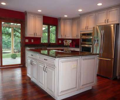 how to install recessed lighting over kitchen sink Red Kitchen Wall Paint Color With Black Granite Countertops, White Cabinet How To Install Recessed Lighting Over Kitchen Sink Best Red Kitchen Wall Paint Color With Black Granite Countertops, White Cabinet Ideas