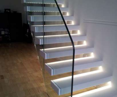 how to install recessed stair lighting White, Stair Lighting Interior With Light Wooden Floor Ideas How To Install Recessed Stair Lighting Professional White, Stair Lighting Interior With Light Wooden Floor Ideas Solutions