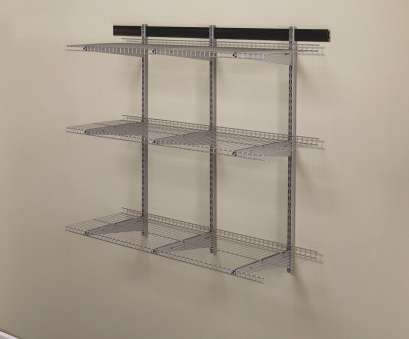 10 Nice How To Install Wall Mounted Wire Shelving Images
