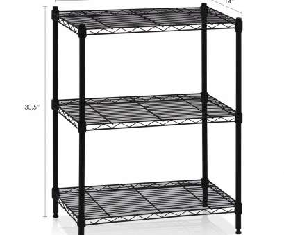 how to install wire shelves upside down Amazon.com: Furinno WS15002 Wayar Heavy Duty Wire Shelving System, 3-Tier, Black: Kitchen & Dining How To Install Wire Shelves Upside Down Brilliant Amazon.Com: Furinno WS15002 Wayar Heavy Duty Wire Shelving System, 3-Tier, Black: Kitchen & Dining Ideas