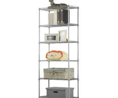 how to install wire shelves upside down Amazon.com: LANGRIA 6 Tier Wire Shelving Unit Organization, Storage Rack with 5 Hooks,Silver: Kitchen & Dining How To Install Wire Shelves Upside Down Best Amazon.Com: LANGRIA 6 Tier Wire Shelving Unit Organization, Storage Rack With 5 Hooks,Silver: Kitchen & Dining Ideas