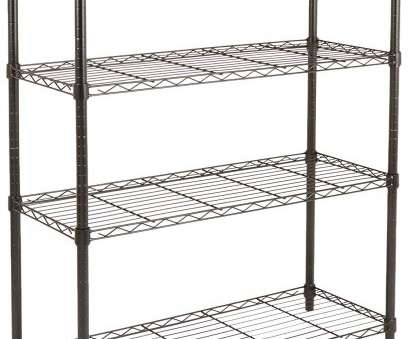 how to install wire shelves upside down AmazonBasics 4-Shelf Shelving Unit, Black How To Install Wire Shelves Upside Down Popular AmazonBasics 4-Shelf Shelving Unit, Black Ideas