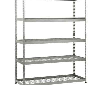 how to install wire shelves upside down Husky 78, H x 60, W x 24, D 5 Shelf Steel Unit How To Install Wire Shelves Upside Down Cleaver Husky 78, H X 60, W X 24, D 5 Shelf Steel Unit Solutions
