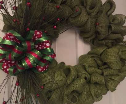 how to make a mesh ribbon wreath on wire frame Christmas wreath with burlap ribbon, accents. Materials:, wire frame, 20, burlap ribbon,, complementary wire ribbons to make, bow How To Make A Mesh Ribbon Wreath On Wire Frame Popular Christmas Wreath With Burlap Ribbon, Accents. Materials:, Wire Frame, 20, Burlap Ribbon,, Complementary Wire Ribbons To Make, Bow Photos