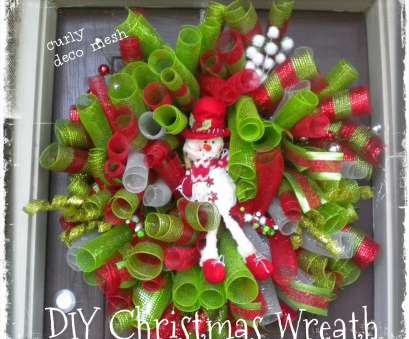 how to make a mesh ribbon wreath on wire frame DIY Christmas Deco Mesh Curly Snowman Wreath 2013 How To Make A Mesh Ribbon Wreath On Wire Frame Best DIY Christmas Deco Mesh Curly Snowman Wreath 2013 Solutions