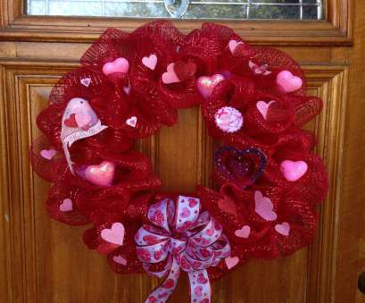 how to make a mesh ribbon wreath on wire frame Red Valentine mesh wreath 12in wire frame, 12in mesh, dollar tree hearts, dollar How To Make A Mesh Ribbon Wreath On Wire Frame Best Red Valentine Mesh Wreath 12In Wire Frame, 12In Mesh, Dollar Tree Hearts, Dollar Collections