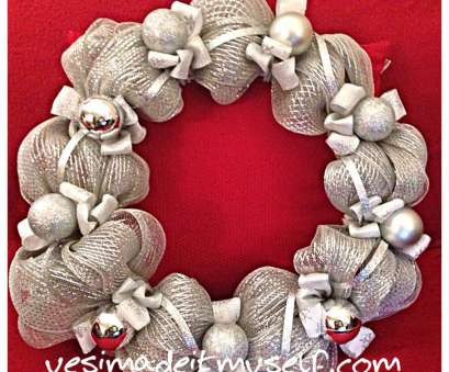 how to make a mesh ribbon wreath on wire frame Silver mesh wreath on wire frame. Pipe cleaners to attach mesh. Learn, to make your, picks. Tutorials, yesimadeitmyself.com How To Make A Mesh Ribbon Wreath On Wire Frame Simple Silver Mesh Wreath On Wire Frame. Pipe Cleaners To Attach Mesh. Learn, To Make Your, Picks. Tutorials, Yesimadeitmyself.Com Galleries