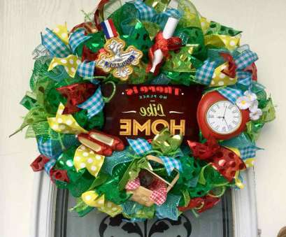how to make a mesh wreath with wire frame 22
